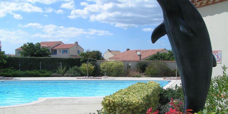 Pool der Ferienanlage Le Grand Large